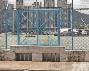 有效防止海水湧入內港