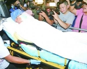 任達華完成兩次手術留醫ICU