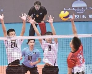 澳門男排亞洲東區賽最終戰負香港