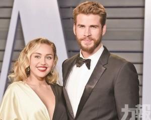 Miley 宣布與「雷神」細佬離婚