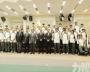澳門代表團45人参六項賽事