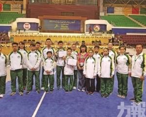 青少年武術代表亞錦賽摘1銀2銅