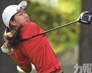 12 歲劉萱出戰加國高球賽