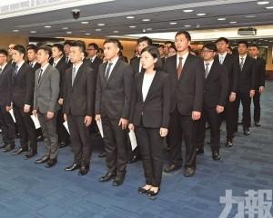 薛仲明敦促警員廉潔奉公 增進專業能力