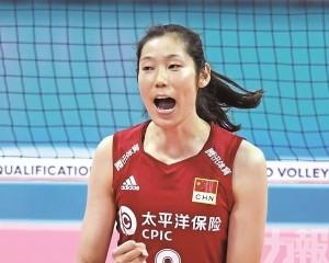 中國女排全力衛冕