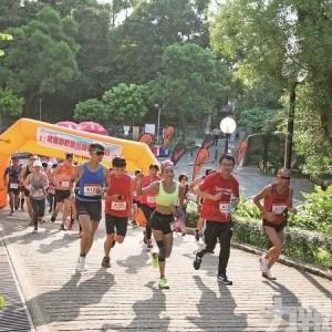 逾160人參與健康越野跑活動