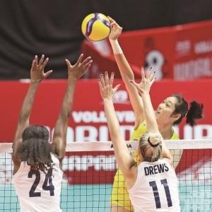 中國女排世盃豪取7連勝