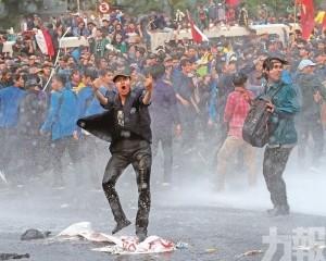 印尼學生反修法示威逾300傷
