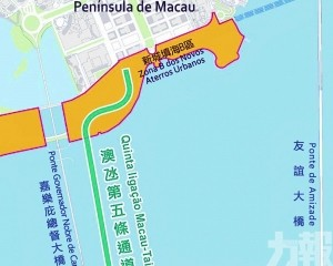 澳氹隧道或衝擊沿海建築