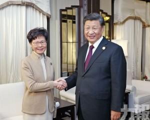 林鄭:會面出於關心香港