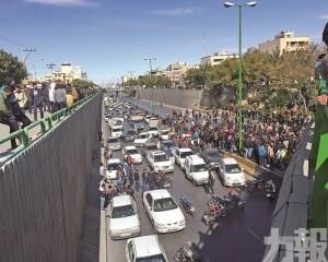 40城爆示威抗議