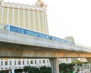 下午3時33分 首班列車氹仔碼頭站開出