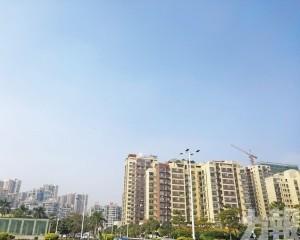 熱炒航空城概念 樓價年升逾一成