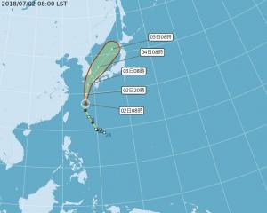 台灣旅客被迫住避難所