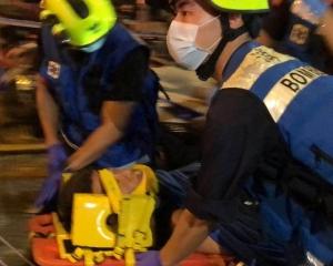 多人受傷 消防仍搶救中