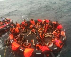 船上有中國遊客