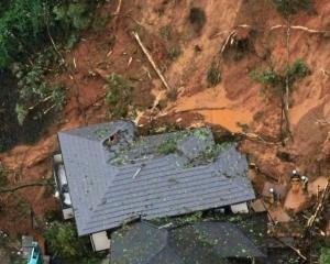 日本暴雨 增至八死46失蹤