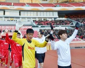 韓朝將於下月舉行工人足球賽