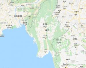 緬甸廢礦塌陷至少15人喪命