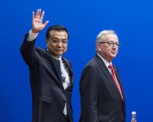 中歐領導人會晤今日北京舉行