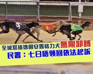民署:七日唔領回依法起訴