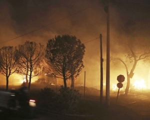 雅典嚴重山火增至50死170傷