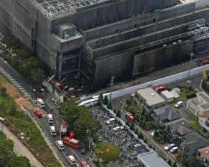 東京多摩市工地發生大火44死傷