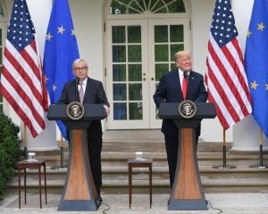 美歐同意建立「零關稅」框架