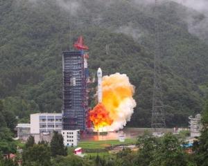 中國成功發射兩顆北斗導航衛星