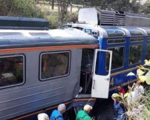 秘魯馬丘比丘兩火車相撞31傷