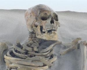 墨國洞穴出土瑪雅人祖先遺骸