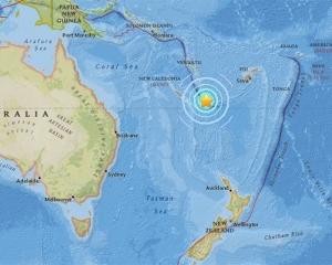 大洋洲法海外屬地7.1級地震