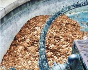 噴泉放10萬枚硬幣一日被偷完