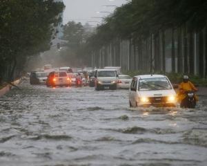 菲律賓風災增至最少25人喪生