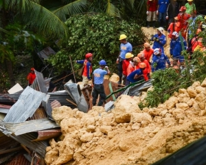菲律賓中部山泥傾瀉15死64失蹤