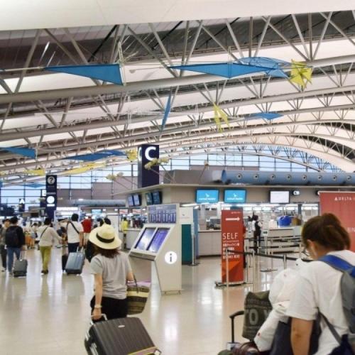日本關西機場全面恢復運作
