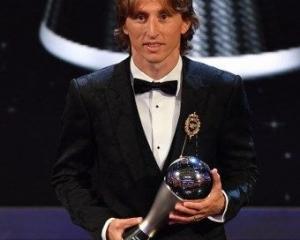 莫迪歷榮膺世界足球先生