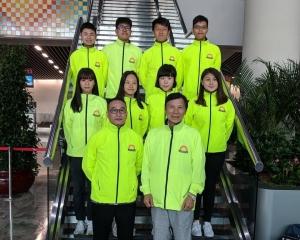 澳門保齡球隊前往台中參加亞洲學界賽