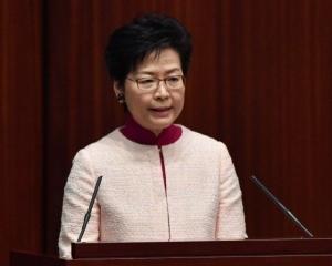 林鄭月娥發表第二份香港施政報告