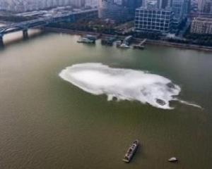 有片!杭州錢塘江驚現巨大神秘旋渦