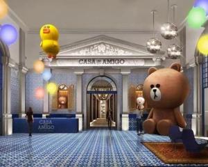 葡京人打造全球首間LINE FRIENDS主題酒店