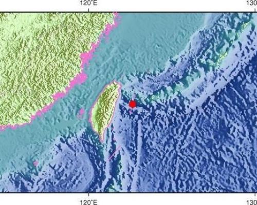 台北震感強烈