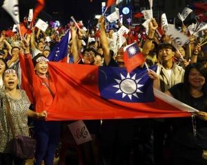 美國祝賀台灣完成民主選舉