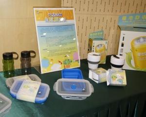 環保局冀大眾少用塑膠樽
