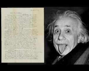 愛因斯坦「上帝之信」290萬美元成交