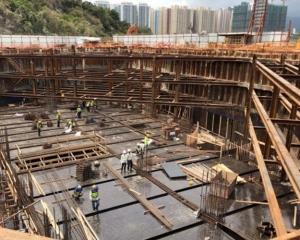 僅六幢完成樁基礎工程