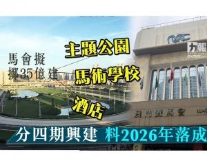 分四期興建料2026年落成所有項目