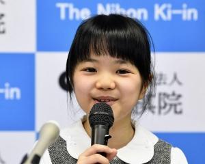 十歲圍棋天才少女成最年輕職業棋士