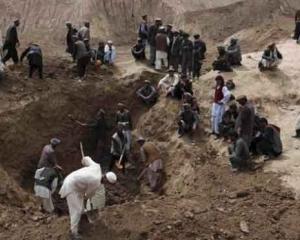 阿富汗金礦倒塌 至少40人死亡