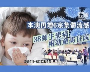 38師生患病兩幼童需住院